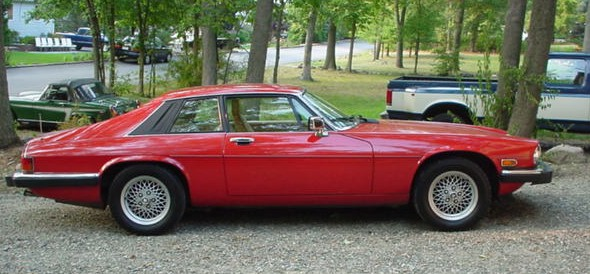 1991 XJ-S Classic Collection Passenger Side